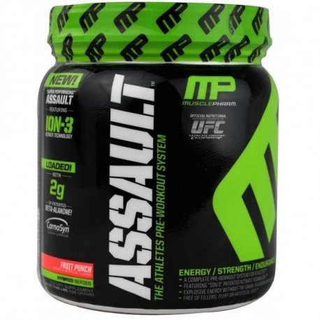 MUSCLE PHARM NEW ASSAULT 435 grs.