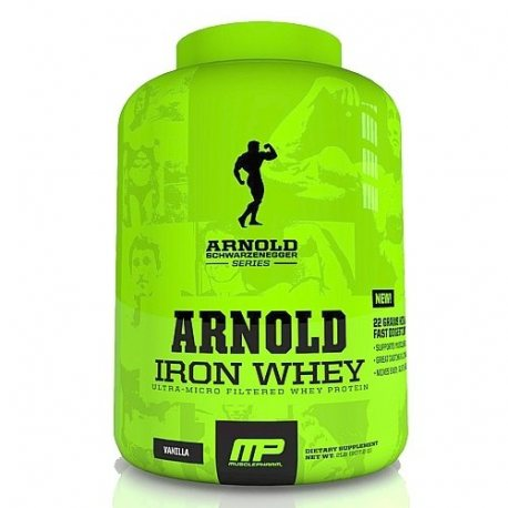 MUSCLE PHARM IRON WHEY 5 LB.