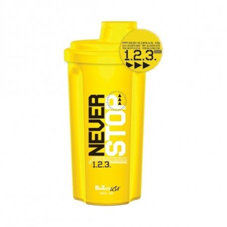 BIOTECH USA SHAKER NEVER STOP NEON YELLOW