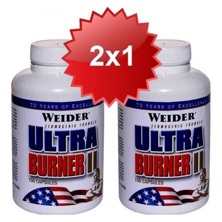 WEIDER ULTRA BURNER II 2X1 150 CAPS.