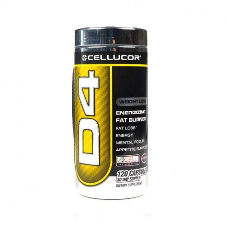 CELLUCOR D4 EXTREME 120 CAPS.