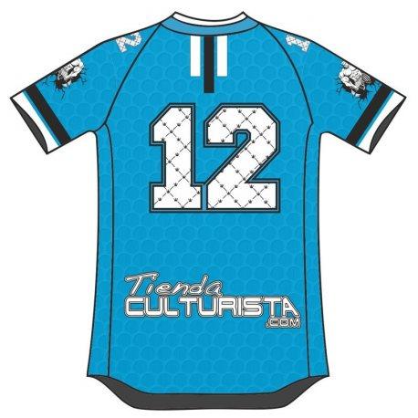 TIENDACULTURISTA CAMISETA NFL AZUL Y BLANCO 12 TIENDACULTURISTA