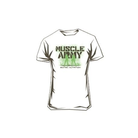 SCITEC MUSCLE ARMY CAMISETA MUSCLE ARMY GIRL WHITE