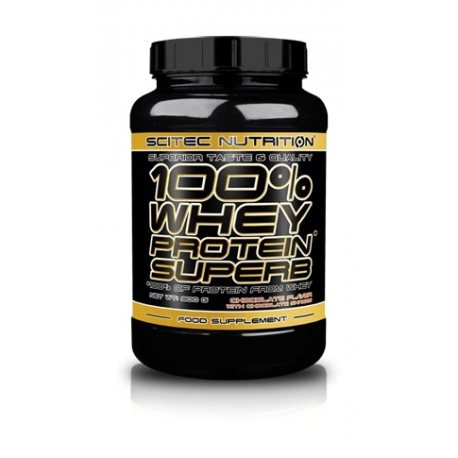 SCITEC NUTRITION 100% WHEY PROTEIN SUPERB 900 G.