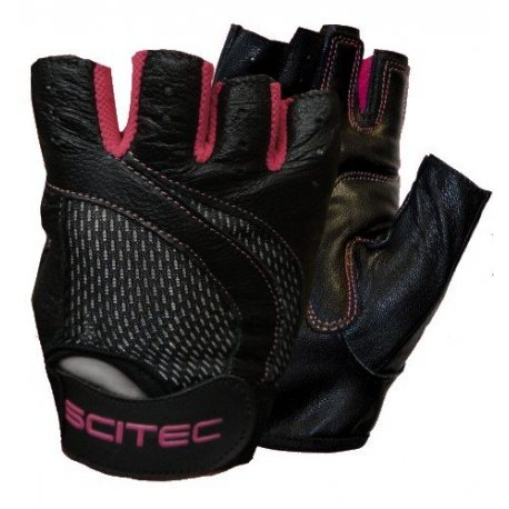 SCITEC GUANTES PINK STYLE