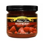 WALDEN FARMS JAM & JELLY FRUIT SPREADS RASPBERRY