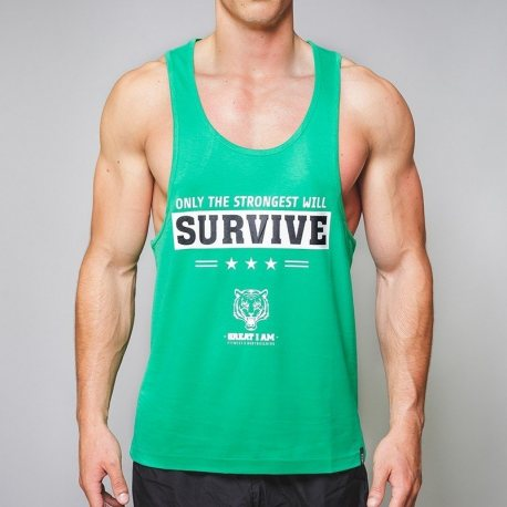 CAMISETA ONLY THE STRONGEST WILL SURVIVE