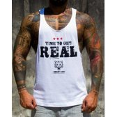 CAMISETA TIME TO GET REAL