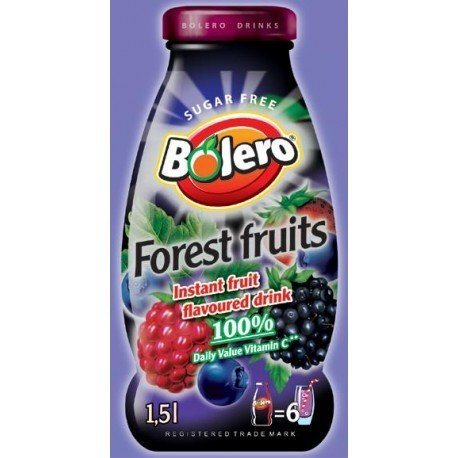 BEBIDA BOLERO SABOR FOREST FRUIT