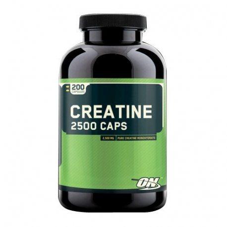 OPTIMUM NUTRITION CREATINE 2500 200 CAPS.