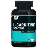 OPTIMUM NUTRITION L-CARNITINE 500MG 60 TABS