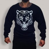 GREAT I AM SUDADERA NEGRA FITNESS & BODYBUILDING