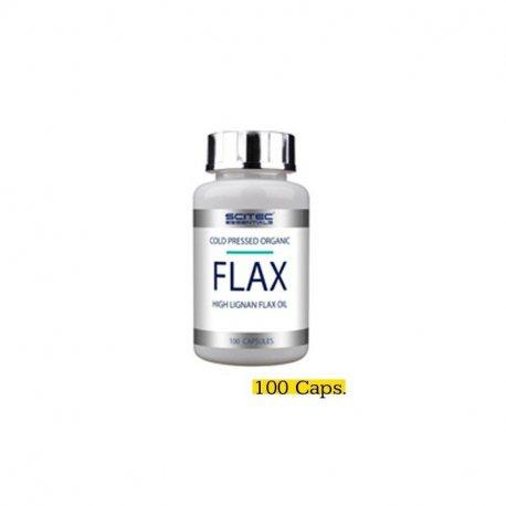 SCITEC ESSENTIALS FLAX 100 CAPS.