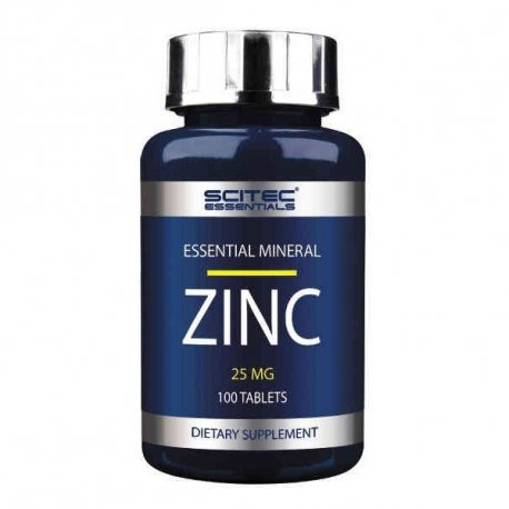 SCITEC ESSENTIALS ZINC 25MG 100 COMP.