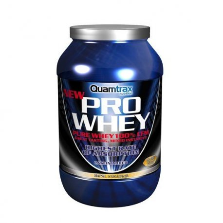 QUAMTRAX PRO WHEY 907 Grs