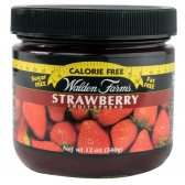 WALDEN FARMS JAM & JELLY FRUIT SPREADS STRAWBERRY