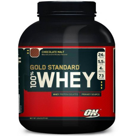 OPTIMUM 100% WHEY GOLD STANDARD 5 LBS