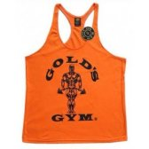 CAMISETA GOLD'S GYM NARANJA