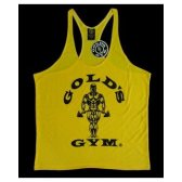CAMISETA GOLD'S GYM AMARILLA