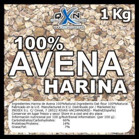 QXN HARINA DE AVENA NEUTRA 1 KG