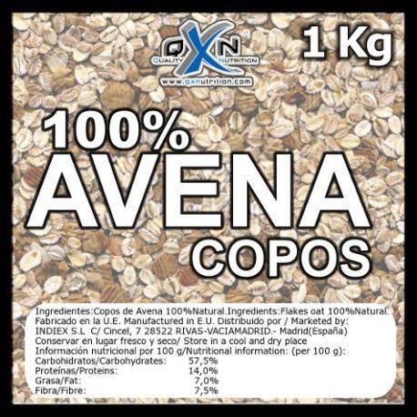 QXN COPOS DE AVENA 1Kg.