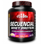 VIT.O.BEST SECUENCIAL WHEY PROTEIN 2LBS.