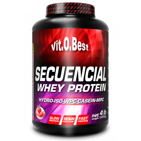 VIT.O.BEST SECUENCIAL WHEY PROTEIN 4LBS.