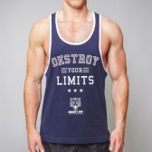CAMISETA DESTROY YOUR LIMITS
