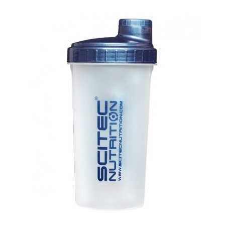 SCITEC NUTRITION SHAKER TRANSPARENTE 700ML