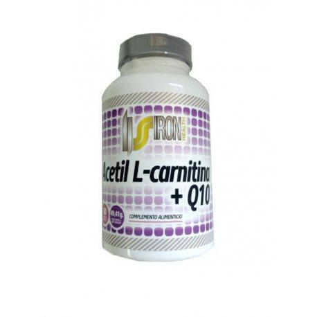 IRON SUPPLEMENTS ACETIL L-CARNITINA +Q10 60 CAPS.