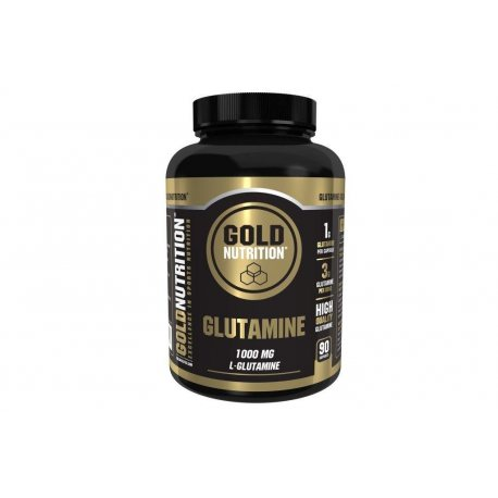 GOLDNUTRITION GLUTAMINE 1000MG 90 CAPS.