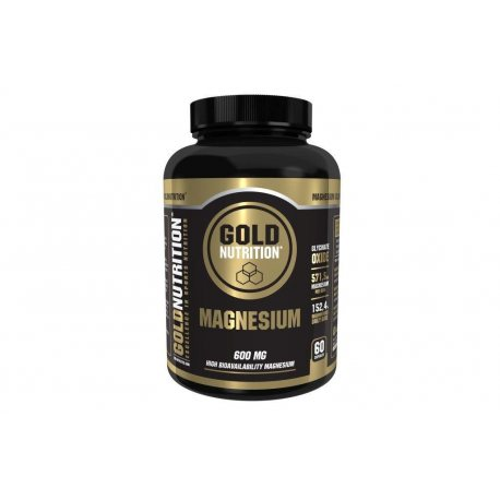 GOLDNUTRITION MAGNESIO 600 MG 60 CAPS.
