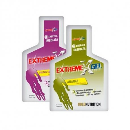 GOLDNUTRITION EXTREME GEL CON GUARANÁ