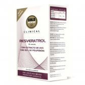 GOLDNUTRITION RESVERASTROL GN CLINICAL 30 CAPS.