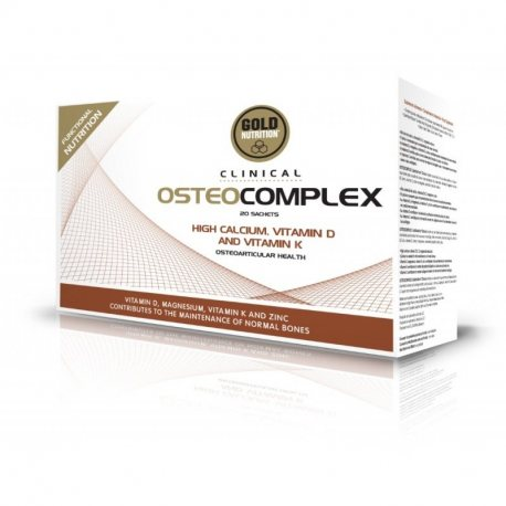 GOLDNUTRITION OSTEOCOMPLEX GN CLINICAL 20 SOBRES