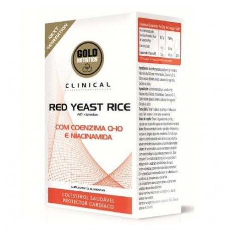 GOLDNUTRITION RED YEAST RICE 60CAPS.