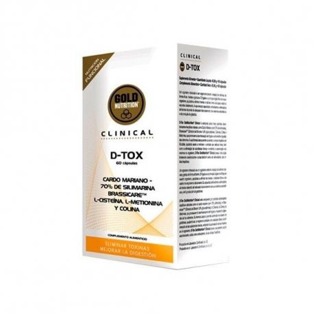 GOLDNUTRITION D-TOX 60 CAPS.