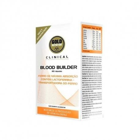 GOLDNUTRITION BLOOD BUILDER 60 CAPS.