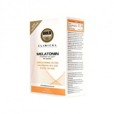 GOLDNUTRITION MELATONIN POWER SLEEP 30 CAPS.
