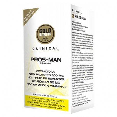 GOLDNUTRITION PROS-MAN 60 CAPS