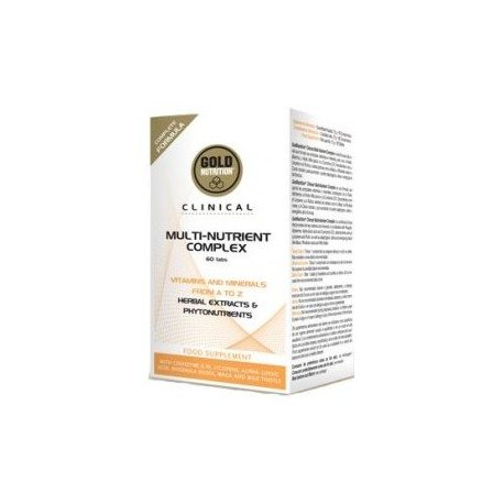 GOLDNUTRITION MULTI-NUTRIENT COMPLEX 60 CAPS.
