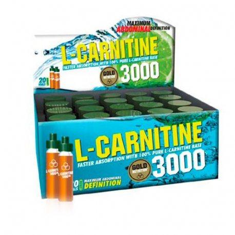 GOLDNUTRITION L-CARNITINE 3000 MG. UNIDOSIS
