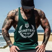 CAMISETA GREAT I AM TANKTOP MONSTER ARE REAL