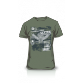 CAMISETA SCITEC MADE OF IRON GREEN