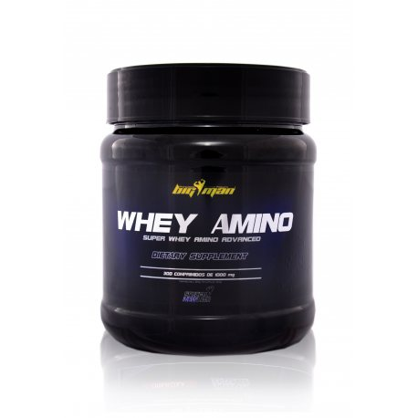 BIG MAN WHEY AMINO 300 COMP. 1000 MG.