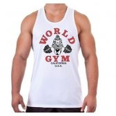 CAMISETA WORLD GYM BLANCA