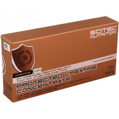 SCITEC NUTRITION PROTECTEC CREATINE CONCENTRATE 144 caps