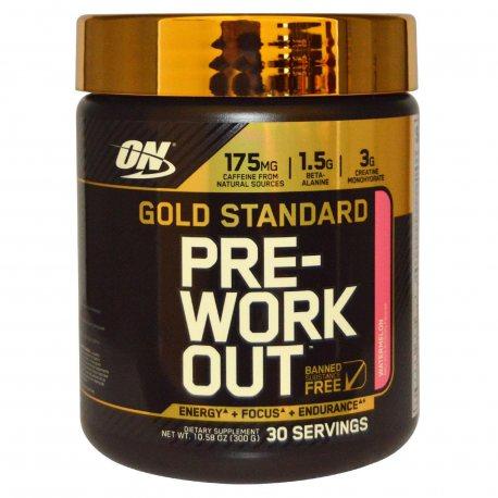 OPTIMUM NUTRITION PRE WORK GOLD STANDARD 330G