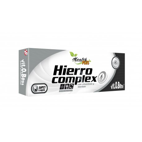 VIT.O.BEST HIERRO COMPLEX 60 CAPS.