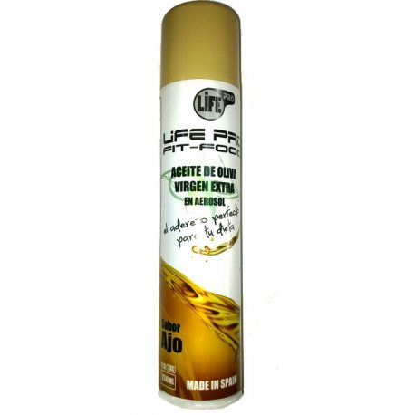 LIFE PRO FIT FOOD ACEITE SPRAY SABOR AJO 250 ML.